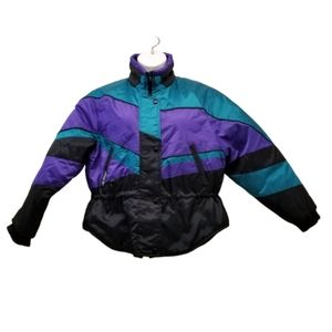 Joe Rocket Sports Gear Coat M Jacket Black Purple